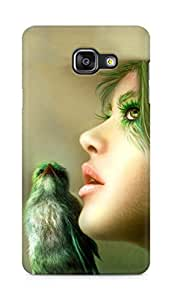 Amez designer printed 3d premium high quality back case cover for Samsung Galaxy A5 (2016 EDITION) (Cool Girl)