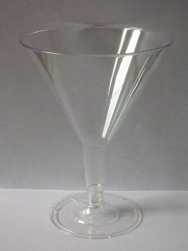 gsl-24-x-clear-plastic-disposable-martini-cocktail-wine-glasses-perfect-for-any-party