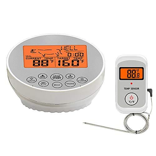 ZUEN Lebensmittel-Thermometer Küche Lebensmittel-Digital-Thermometer Für Fleisch Wilder Barbecue Foods Dual Channel-Thermometer-Timer-Thermometer