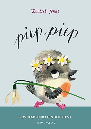 Piep Piep!: Postkartenkalender 2020