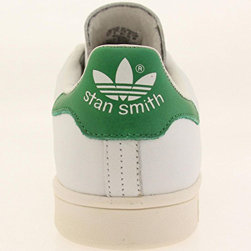 adidas Stan Smith, Baskets Basses Homme White/Green/Gold