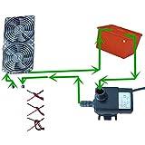MXECO 1 PC DIY 120W Tec Peltier Semiconductor Frigorifero Acqua di Raffreddamento Aria condizionata meccanismo di Raffreddamento e Ventola