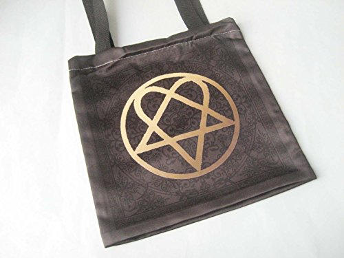 him-finnish-rock-band-heartagram-logo-fashion-shopping-travel-natural-tote-recylced-bag