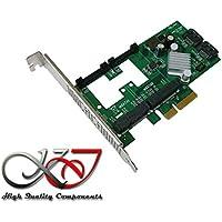 Kalea-Informatique©-Scheda controller PCIe mSATA 3.0(2porte) e SATA 3.0(2porte),funzioni ibrida e Raid 0/1/10,gamma professionale, componenti di alta qualità, driver preinstallati per Windows/Mac/Linux - Gamma Vista