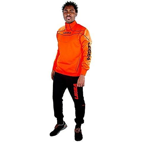 Legea Nigeria Tuono Chándal de entrenamiento de manga larga para hombre  Verde neón, traje, color Arancio Fluo Nero, tamaño