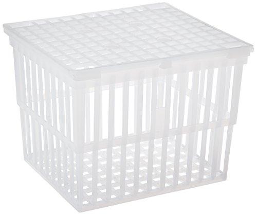 neoLab 1-3120 Kunststoffkorb ohne Deckel, 127 x 102 x 102 mm