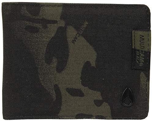 Nixon Cape Multi Bi-fold Wallet - Black Multicam -