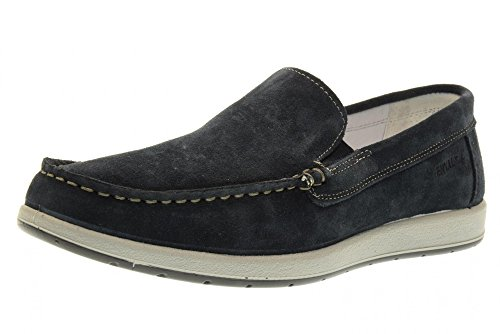 ENVAL SOFT chaussures homme mocassin 78883/00 Bleu