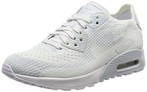 Nike Herren Schuhe / Sneaker Air Max 90 Flyknit Ultra 2.0 weiß 38