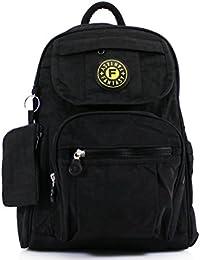 e3f907beb440 Womens Ladies Mini Fabric Backpack Rucksack Girls School Bag College Womens  Shoulder Gym Bag
