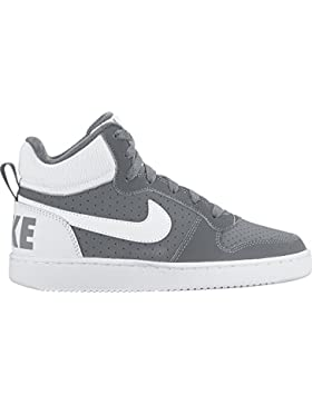 Nike Court Borough Mid GS, Zapatillas de Baloncesto Unisex Bebé