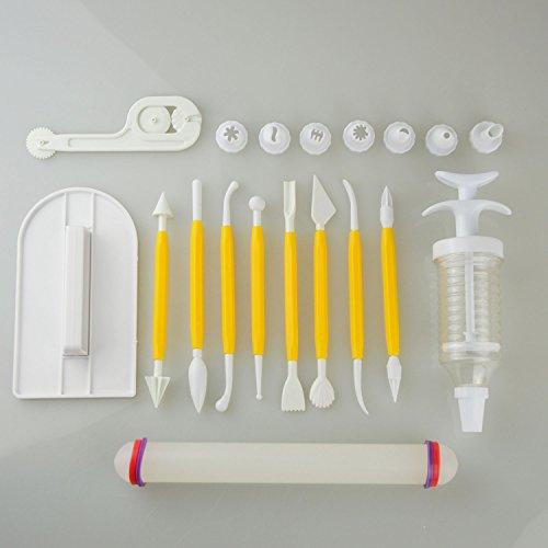 Decoración Pasteles Juego herramientas pulidora