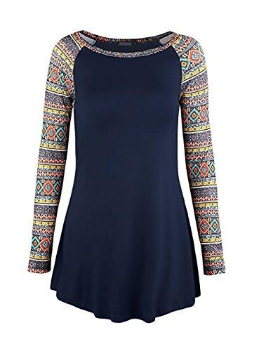 Donna camicia autunno invernali elegante camicie vintage unique partito etno-style slim fit camicette vestitini manica lunga girocollo giuntura con volant camicetta blusa