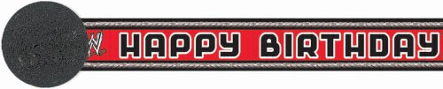 epe Streamer f-r Party - Red (Wwe Party Supply)