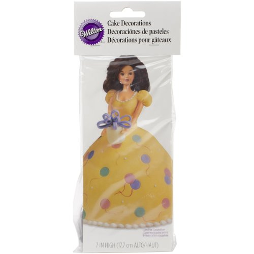 Wilton USA Produkt - Teen Puppe Pick-Cake Decoration 7-3/4 1/PkBrunette Wilton Wonder Mold