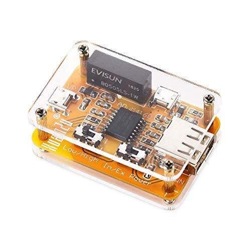 DollaTek Aislador USB 1500 V Aislador ADUM4160 Módulo aislador USB a USB...