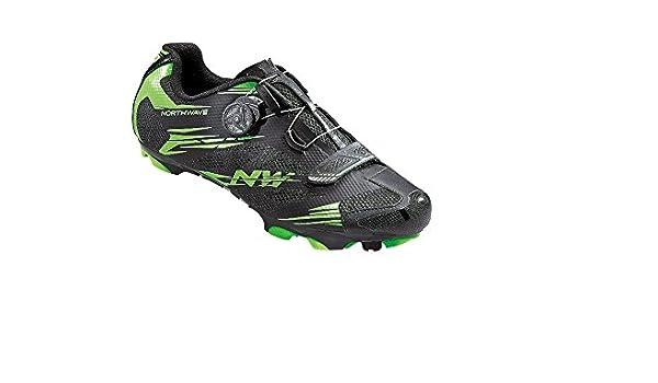 NORTHWAVE SCORPIUS 2 PLUS Mountainbike Schuhe black green