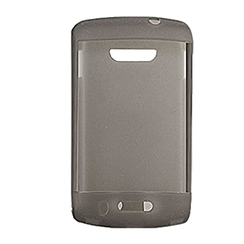 Grau-Silikon-Haut zurück Fall für Blackberry 9500 9530