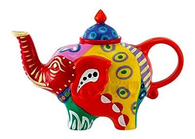 Éléphant-verseuse design: orange-théière en porcelaine avec couvercle 1824 0,8 l