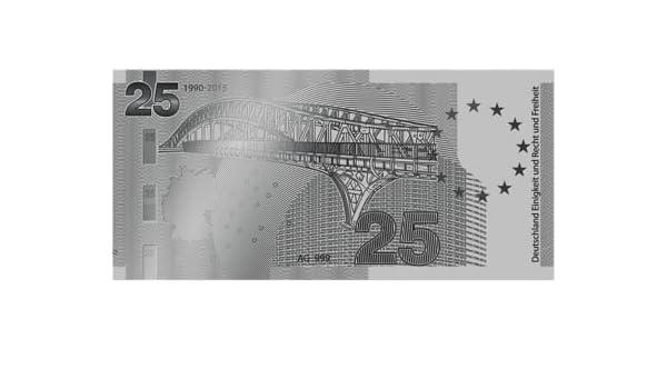 Banknote In Reinstem Silber 9991000 Amazonde Bürobedarf