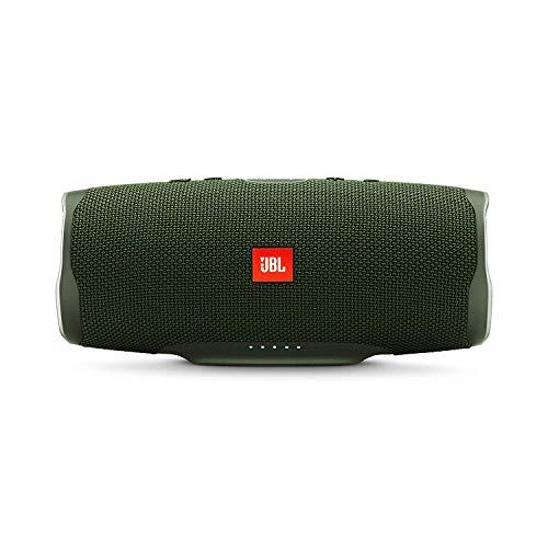 JBL Charge 4 Bluetooth-Lautsprecher in Grün - Wasserfeste, portable Boombox mit integrierter Powerbank - Mit nur einer Akku-Ladung bis zu 20 Stunden kabellos Musik streamen