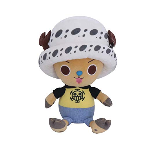 One Piece Plüschpuppe One Piece Anime Monkey D. Ruffy Plüschfigur Tony Chopper Cartoon Niedliche Plüsch Anime Puppe Spielzeug