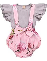 Zeside Toddlers Combed Cotton Ankle Socks Baby Girls Bowknot Lace Ruffle Frilly Trim Ankle Socks