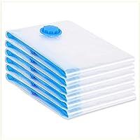 VIRSUS 6 Buste salvaspazio sottovuoto 60x80 cm antitarmico Naturale antiodore Protegge da Polvere e da Cattivi odori…