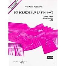 Du solfège sur la FM 440.3 : lecture rythme (Livre de l'élève)