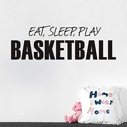 169 Brillen (Eat Sleep Play Basketball Worte Wandaufkleber Diy Wand Poster Wandtattoos Für Kinderzimmer Wohnkultur Jungen Sport Ball 55 * 169 cm)