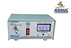 Rahul 6515 a 500 VA 140-280 Volt LCD/LED TV 42 + /Music System/Refrigerator 90 Ltr to 180 Ltr Automatic Voltage Stabilizer