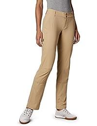 Columbia Pantalones de rastro de s¨¢bado de mujeres, Tan brit¨¢nico, 8 / Regular