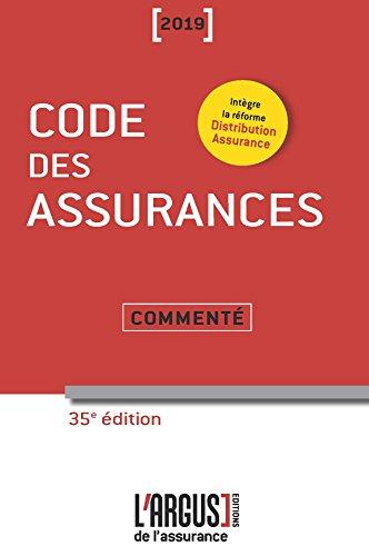 Code des assurances commenté par Collectif