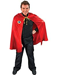 Halloween Adult Superman Spiderman Fancy Dress Stag Night Party Superhero Cape