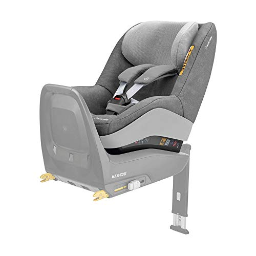 Maxi Cosi Pearl One i-Size Reboarder Autositz, passend zur FamilyFix One i-Size Basisstation, Gruppe 1 Kinderautositz (9-18 kg), nutzbar ab 6 Monate bis 4 Jahre, nomad grey