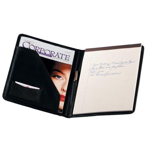 royce-leather-writing-padfolio-black