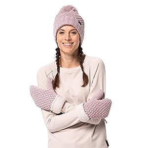 Jack Wolfskin Damen Highloft Knit Mitten Women Handschuhe