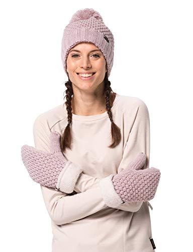 Jack Wolfskin Damen HIGHLOFT Knit Mitten Women Handschuhe, Violet Pearl, S