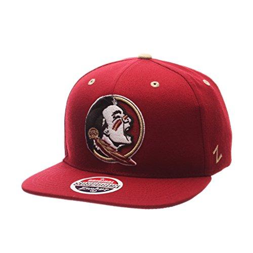 Zephyr Herren Florida State Seminolen Z11zwool Hat Cardinal ADJ (State Florida Seminoles Hat)