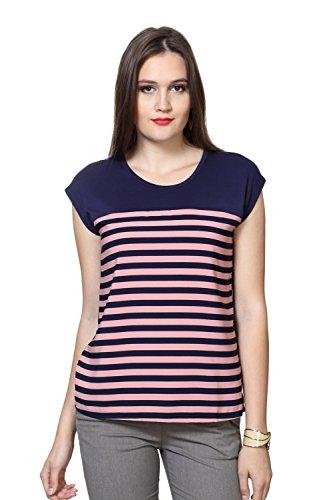 Van Heusen Women's Striped T-shirt