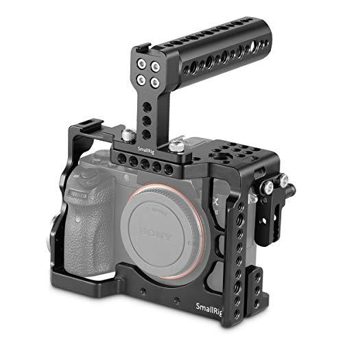 SMALLRIG Kit de Cage Jaula A7SII con Mango Superior y Abrazadera de Cable HDMI para Sony a7ii a7rii a7sii - 2014
