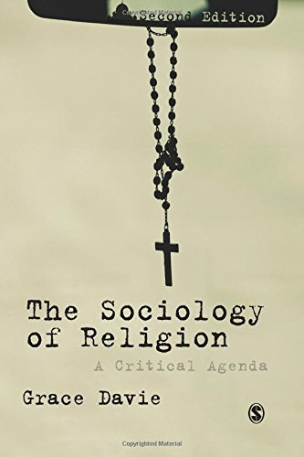 The Sociology of Religion: A Critical Agenda by Grace Davie (2013-01-15)