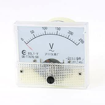 0-15 V DC Einbau Messinstrument Analog Voltmeter MINI 40 x 40 x 25