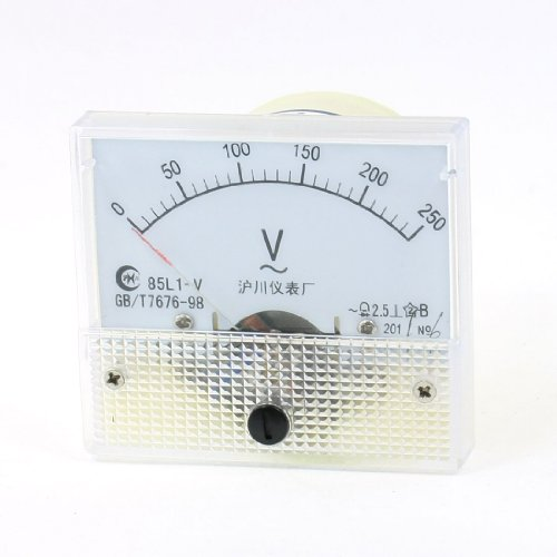 Klasse 2,5AC 0-250V Analog Voltage Voltmeter Panel Meter 85l1-v - Ac Voltmeter