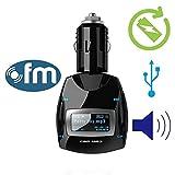 Drahtloser beweglicher Car Kit MP3-Player mit Fernbedienung FM-Transmitter mit Auto-Zigarettenanz¨¹nder-Ladeger?t f¨¹r iPone 5S 5C 4 iPod iPad Android-Smartphone