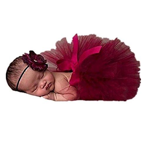 Fami Nouveau-né Bébé Tutu Robe Photo Photographie Prop Tenues (D)