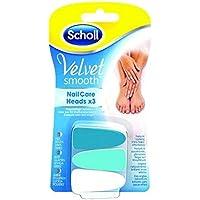 Scholl Samtig-Weich Nagelpflege Köpfe X3 - Packung mit 2 preisvergleich bei billige-tabletten.eu