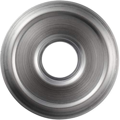 ABUS Abdeckrosette für Türspione 2200, 2300 und 1200 - silber/Nickel - Rosette Nickel