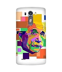 Einstein Art LG G3 Stylus Case