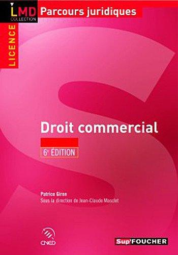 Droit commercial 6e édition